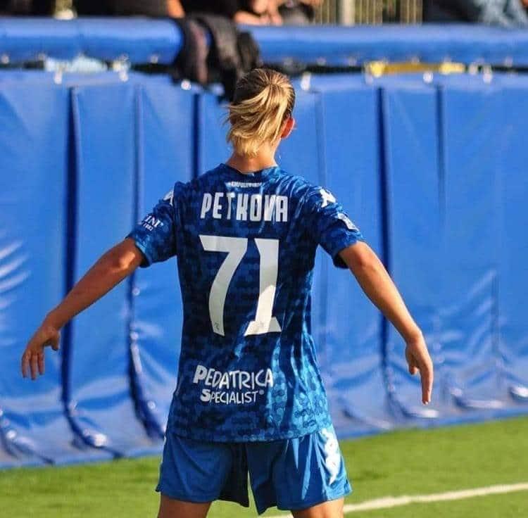 Българката Симона Петкова се разписа при победата на своя отбор