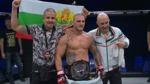 Бългасркият ММА състезател Владислав Кънчев записа силна победа с нокаут