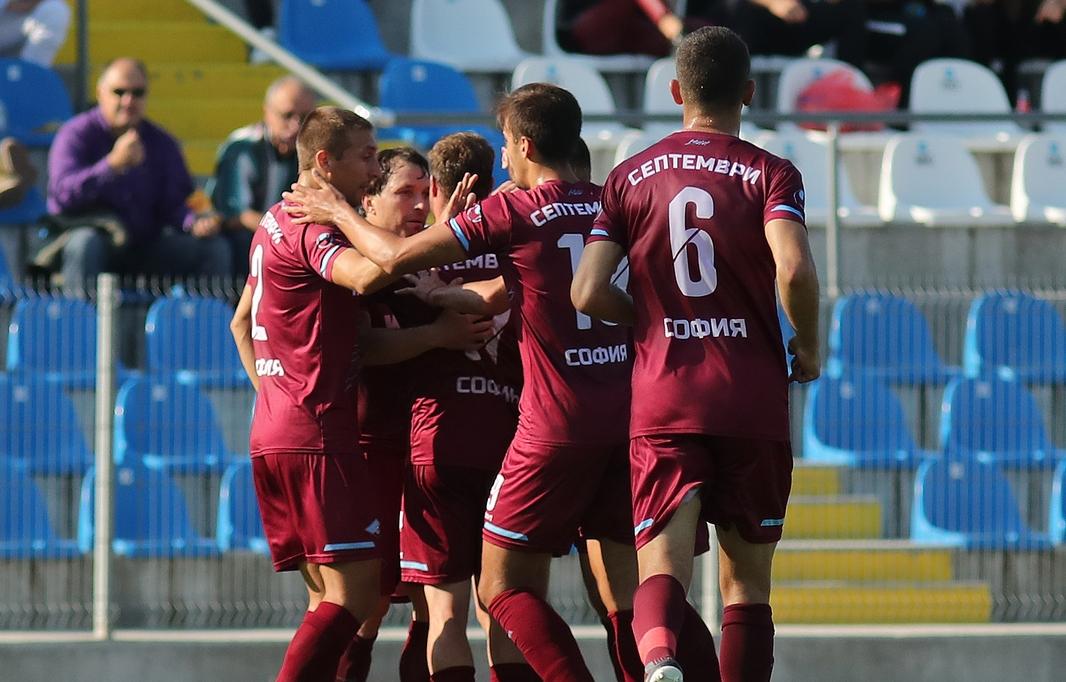 Отборите на Септември и Локомотив (София) излизат един срещу друг