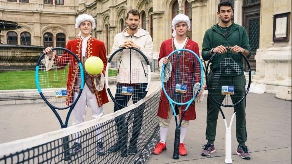 Единственият българин в тенис елита Григор Димитров и евентуалният му