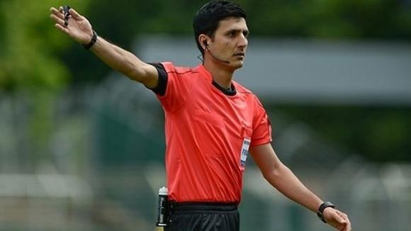 Опитният азербайджански съдия Алияр Агаев ще ръководи мача от група
