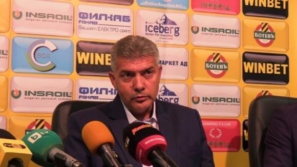 Изпълнителният директор на Ботев (Пловдив) - Иван Йотков не е