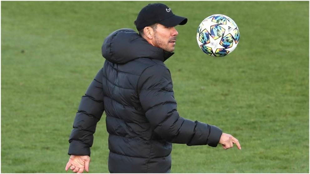 Старши треньорът на Атлетико Мадрид Диего Симеоне ще направи няколко
