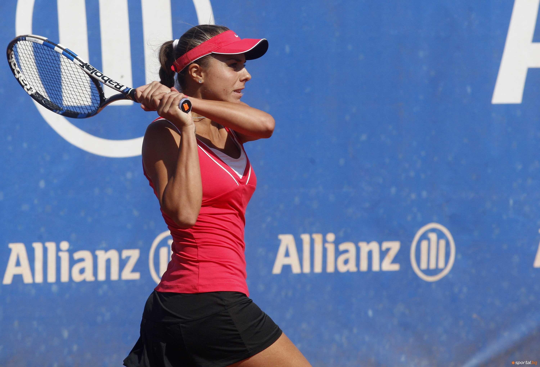Виктория Томова се класира за втория кръг на турнира по