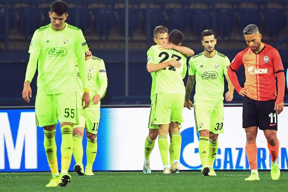Динамо (Загреб) продължава с отличното си представяне в Шампионската лига.
