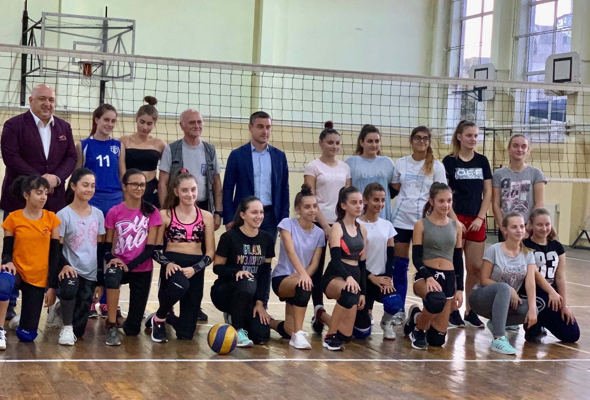 Министърът на младежта и спорта Красен Кралев даде старт на