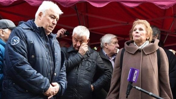 Собственикът на Локомотив (Пловдив) Христо Крушарски, почетният президент Христо Бонев