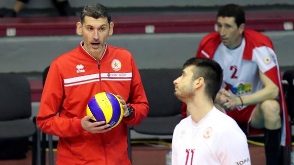 Старши треньорът на волейболния ЦСКА Александър Попов изрази мнение за