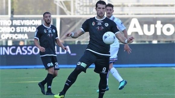 Българският нападател Андрей Гълъбинов от италианския втородивизионен футболен клуб Специя
