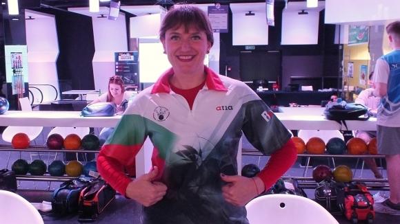 Най-добрата ни състезателка и шампионка по боулинг Марина Стефанова се