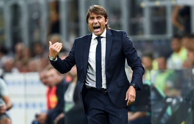 Треньорът на Интер Антонио Конте остана доволен от успеха с