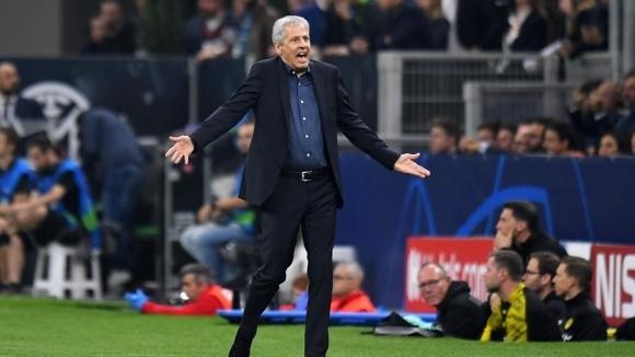 Треньорът на Борусия (Дортмунд) Люсиен Фавър не бе щастлив след