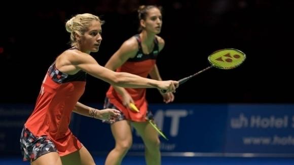 Габриела и Стефани Стоеви отпаднаха на четвъртфиналите на двойки при
