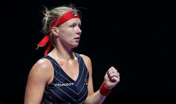 Резервата Кики Бертенс от Холандия победи водачката в световната ранглиста