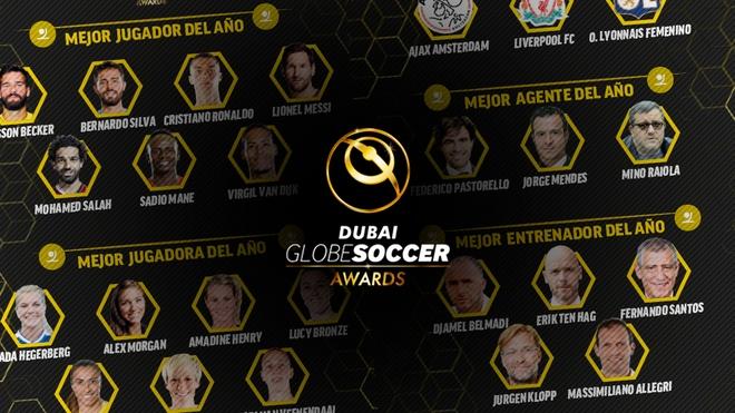 В края на годината по традиция Дубай събира футболния елит,