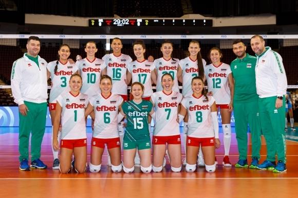 Както първи Sportal.bg обяви още на 30 септември, волейболистиките от