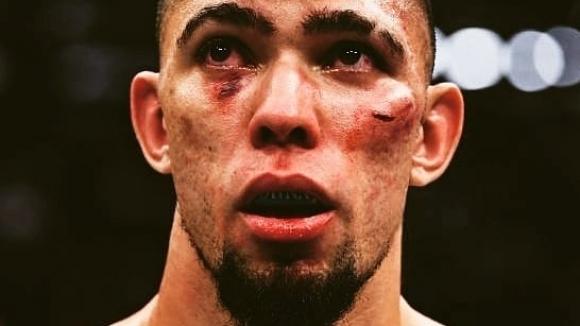Снимка: Джони Уокър изненадващо и брутално нокаутиран на UFC 244