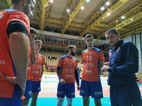 Треньорът на Виктория Волей (Пловдив) Атанас Митрев коментира играта на