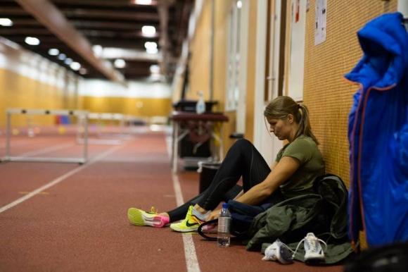 Европейската рекордьорка на 200 метра и носителка на две световни