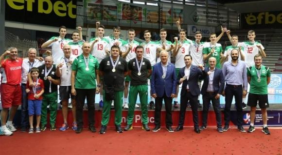 България заема първо място в европейската ранглиста по волейбол за