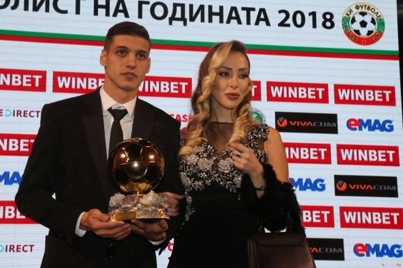 Футболист №1 на България за 2018 година Кирил Десподов ще