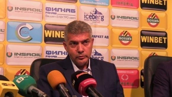 Собственикът на Ботев (Пловдив) Георги Самуилов ще освободи изпълнителния директор