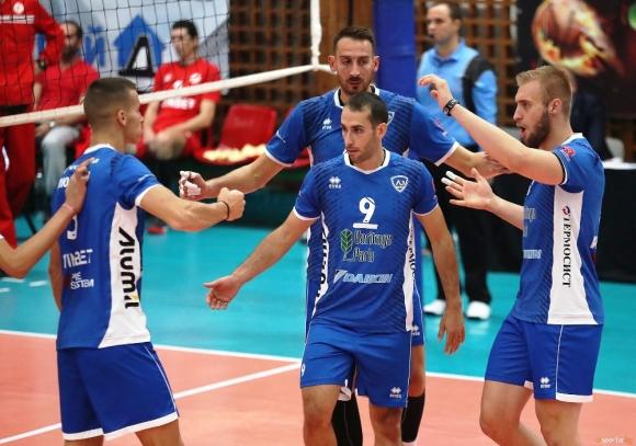 Волейболният тим на Левски София записа едва втора победа в