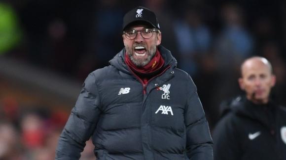 Мениджърът на Ливърпул Юрген Клоп бе във възторг от победата