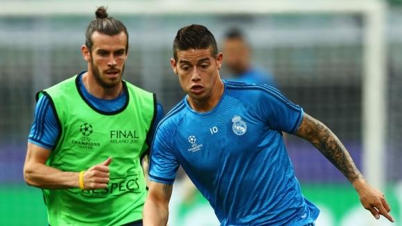 Двама от футболистите на Реал Мадрид, отсъстващи от тренировките в