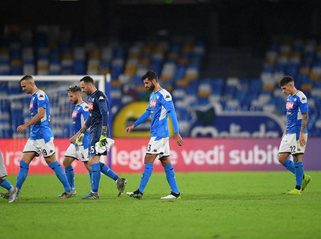 Футболисти на Наполи наеха бодигардове, които да ги пазят от