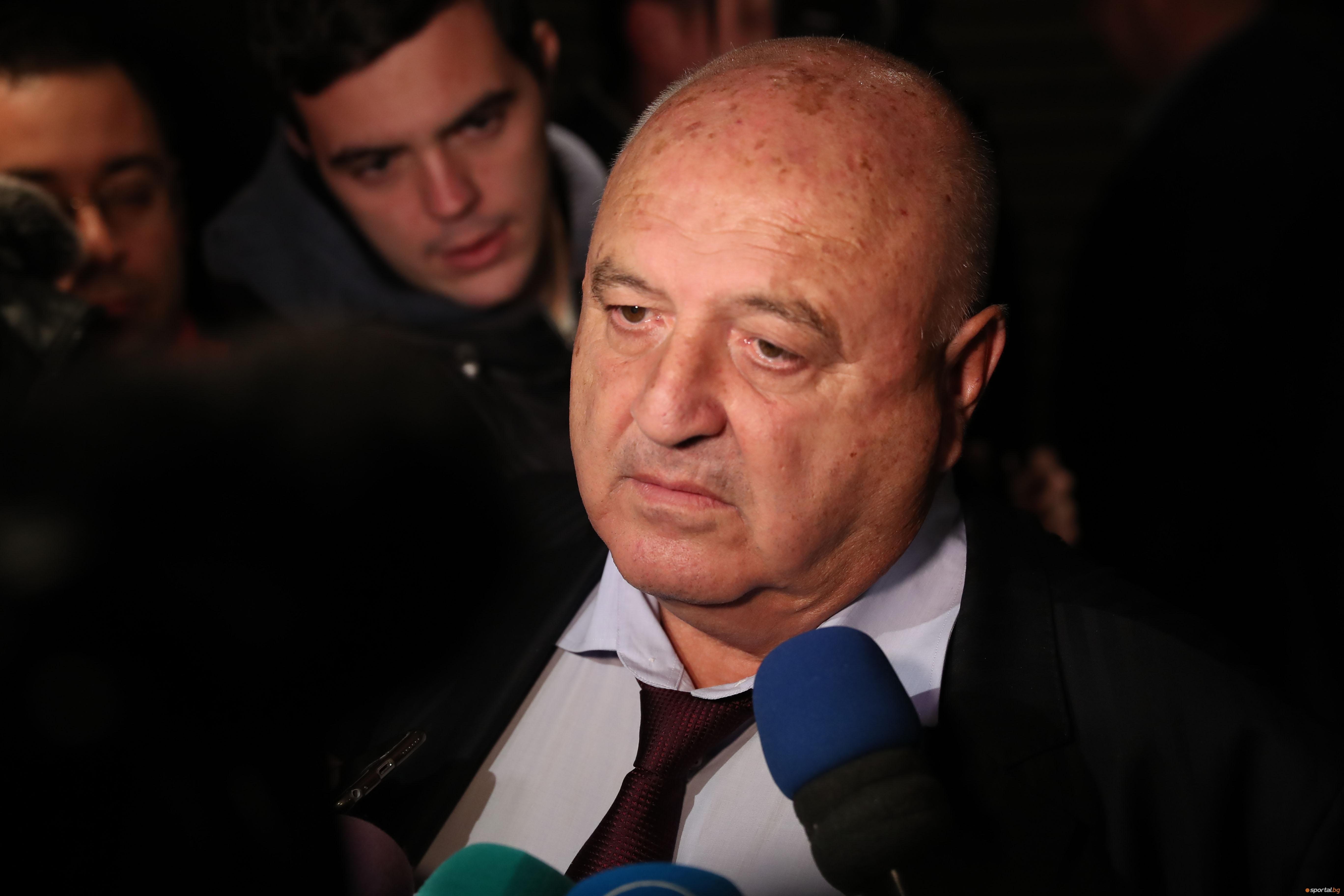 Президентът на Славия Венцеслав Стефанов коментира новия скандал, свързан с