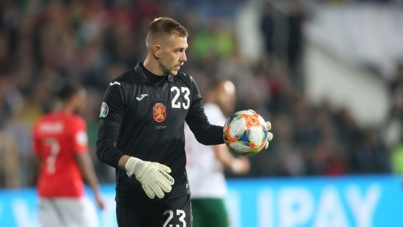 Вратарят на Лудогорец Пламен Илиев е под въпрос за мача