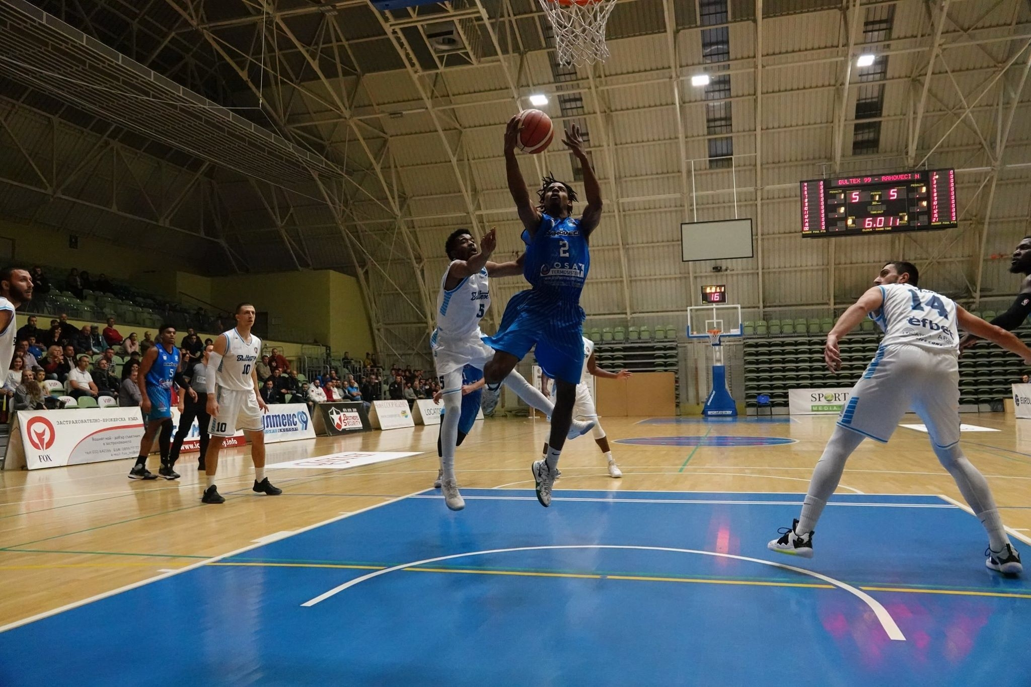 Академик Бултекс 99 започна успешно новия сезон в Балканската баскетболна