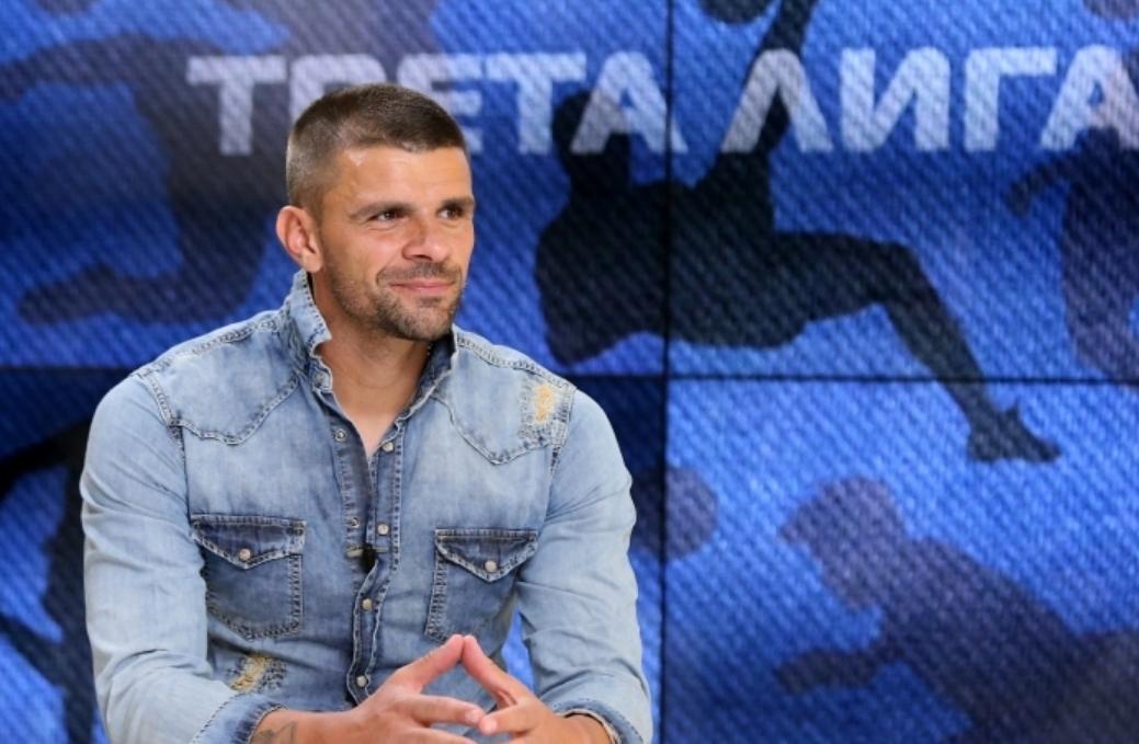 Един от най-добрите футболисти на Ботев (Враца) - Валентин Илиев,
