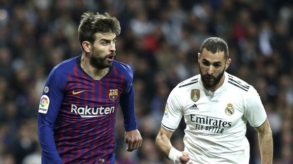 Битката между Барселона и Реал Мадрид от десетия кръг на