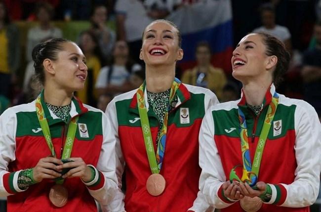 Олимпийските медалистки от Рио 2016 Михаела Маевска и Любомира Казанова