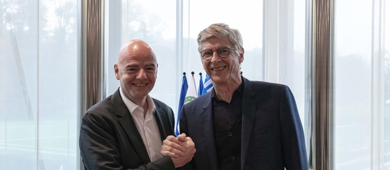 Бившият мениджър на Арсенал Арсен Венгер официално започна работа във