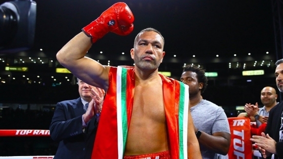 Голямата звезда на българския професионален бокс Кубрат Пулев се завърна