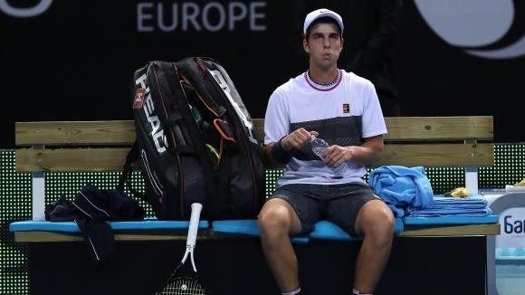 Младият български тенисист Адриан Андреев отпадна във 2-ия кръг на