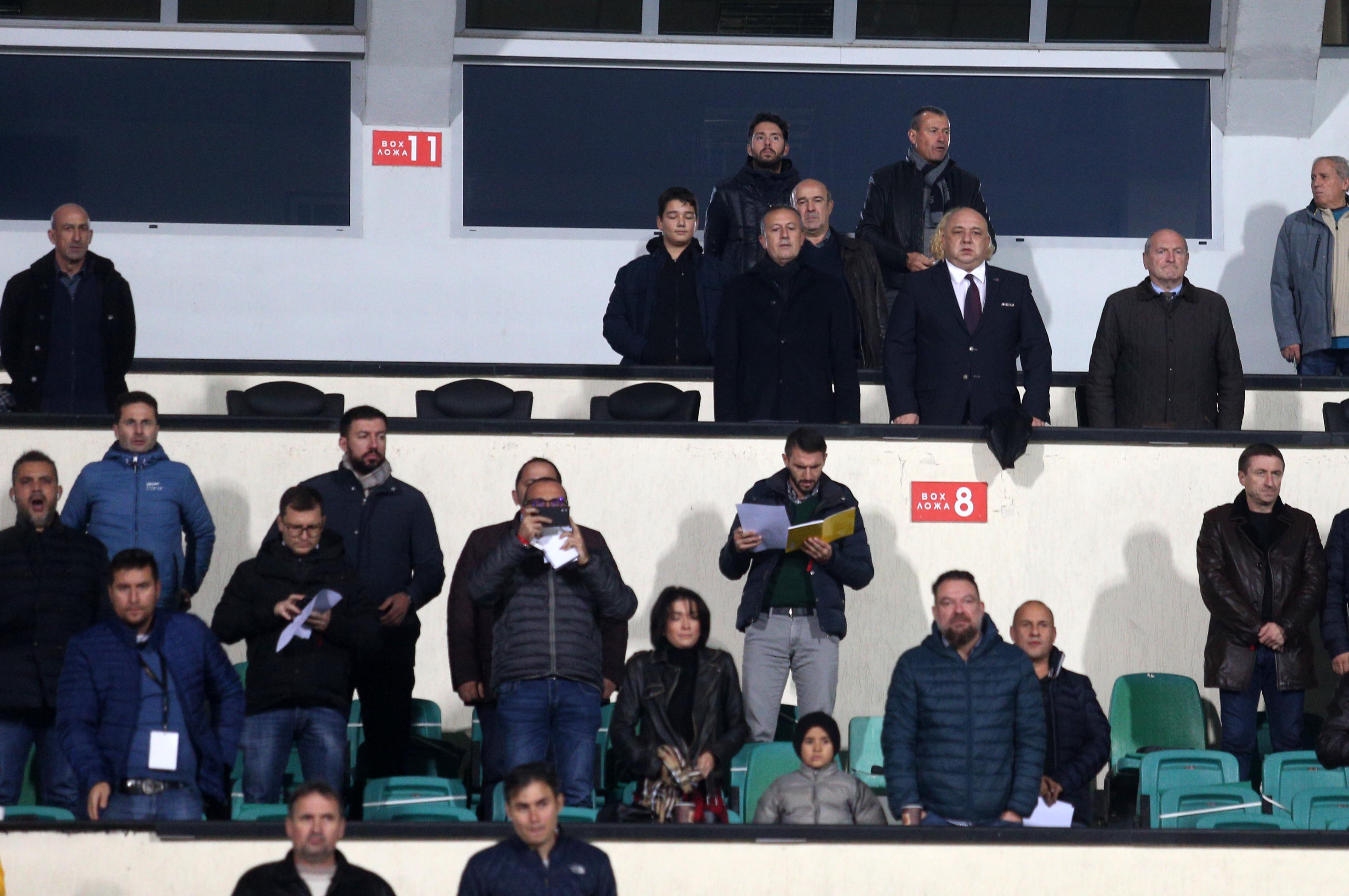 Президентът на Българския футболен съюз Михаил Касабов, който наследи наскоро