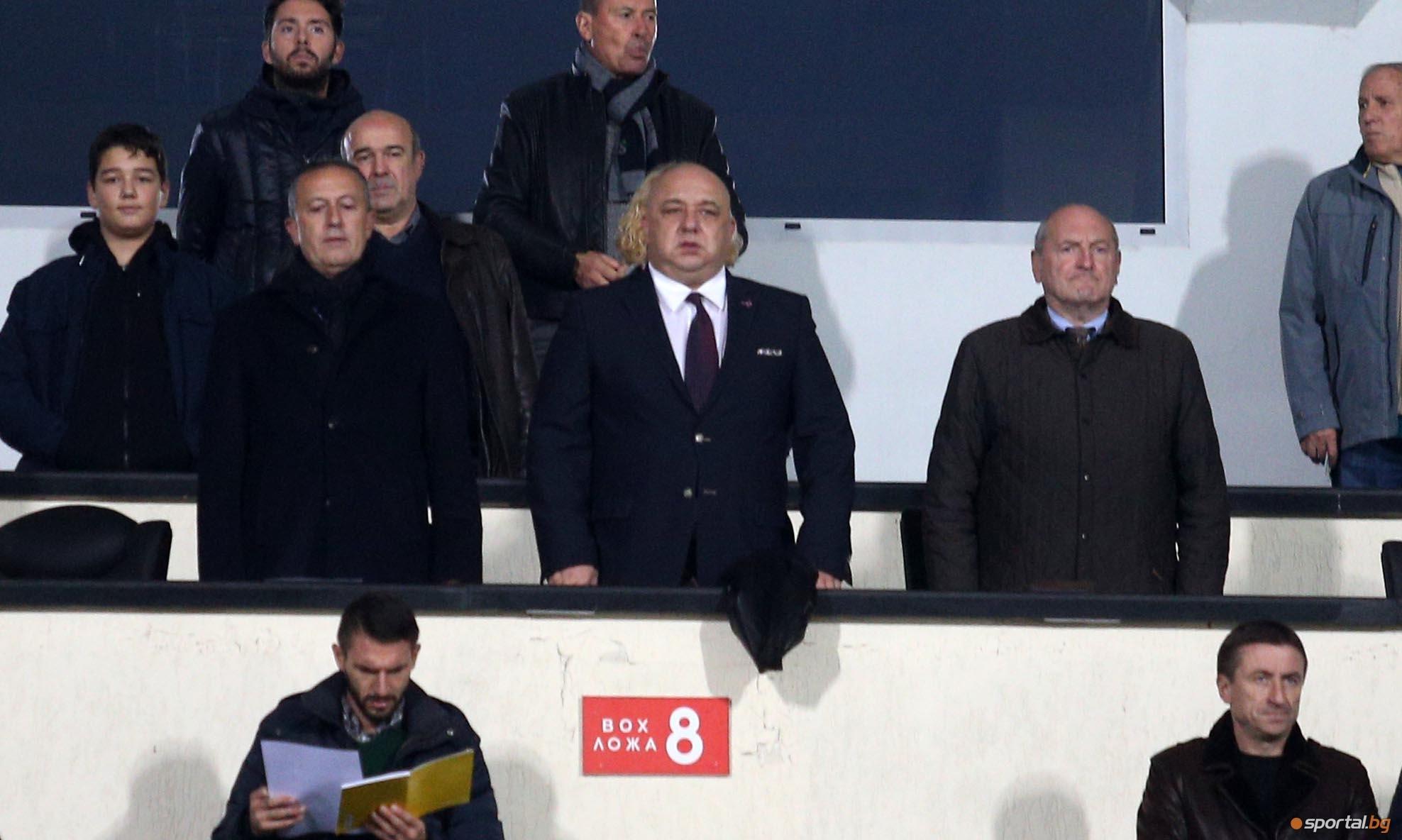 Спортният министър Красен Кралев даде своя коментар след загубата на