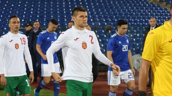 Десният краен защитник на българския национален отбор по футбол –
