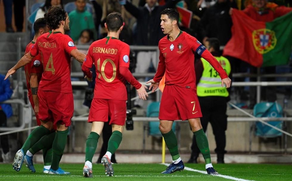 Европейският шампион Португалия направи решителна крачка към класиране за Евро