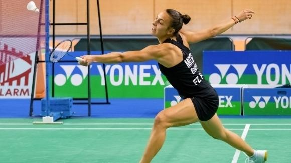 Мария Мицова се класира за четвъртфиналите на турнира по бадминтон
