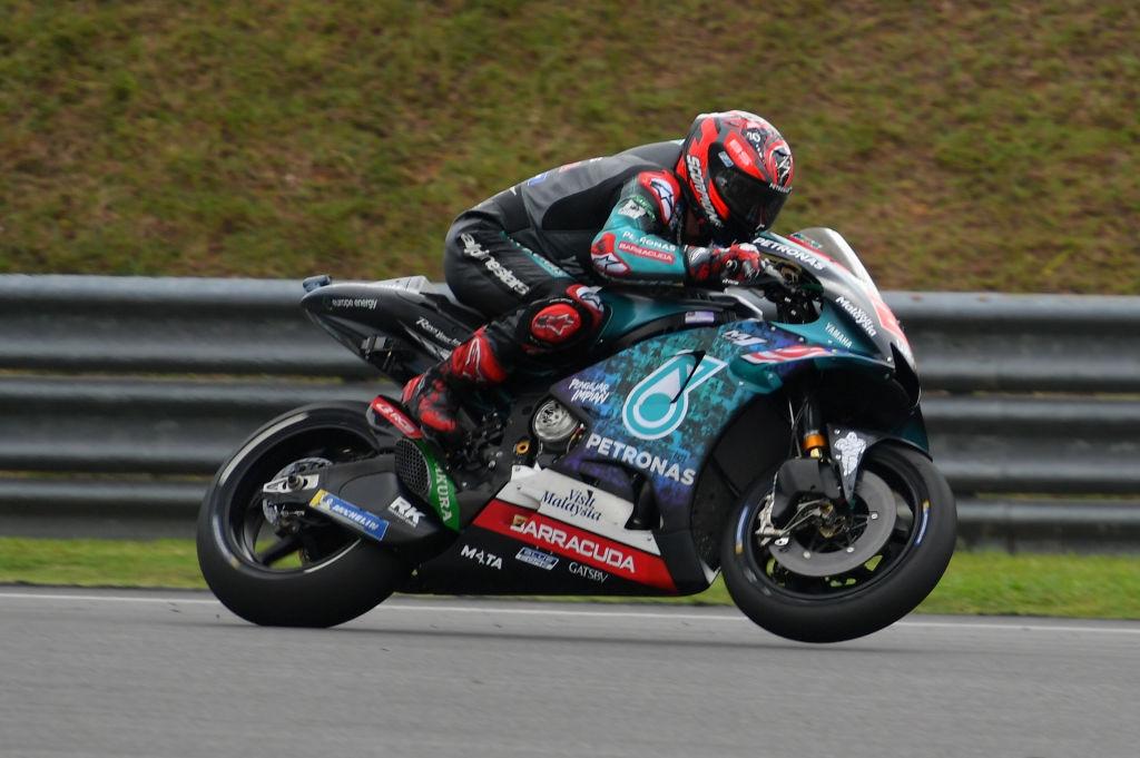 Сателитният пилот на Yamaha Фабио Куартараро записа най-бързата обиколка в