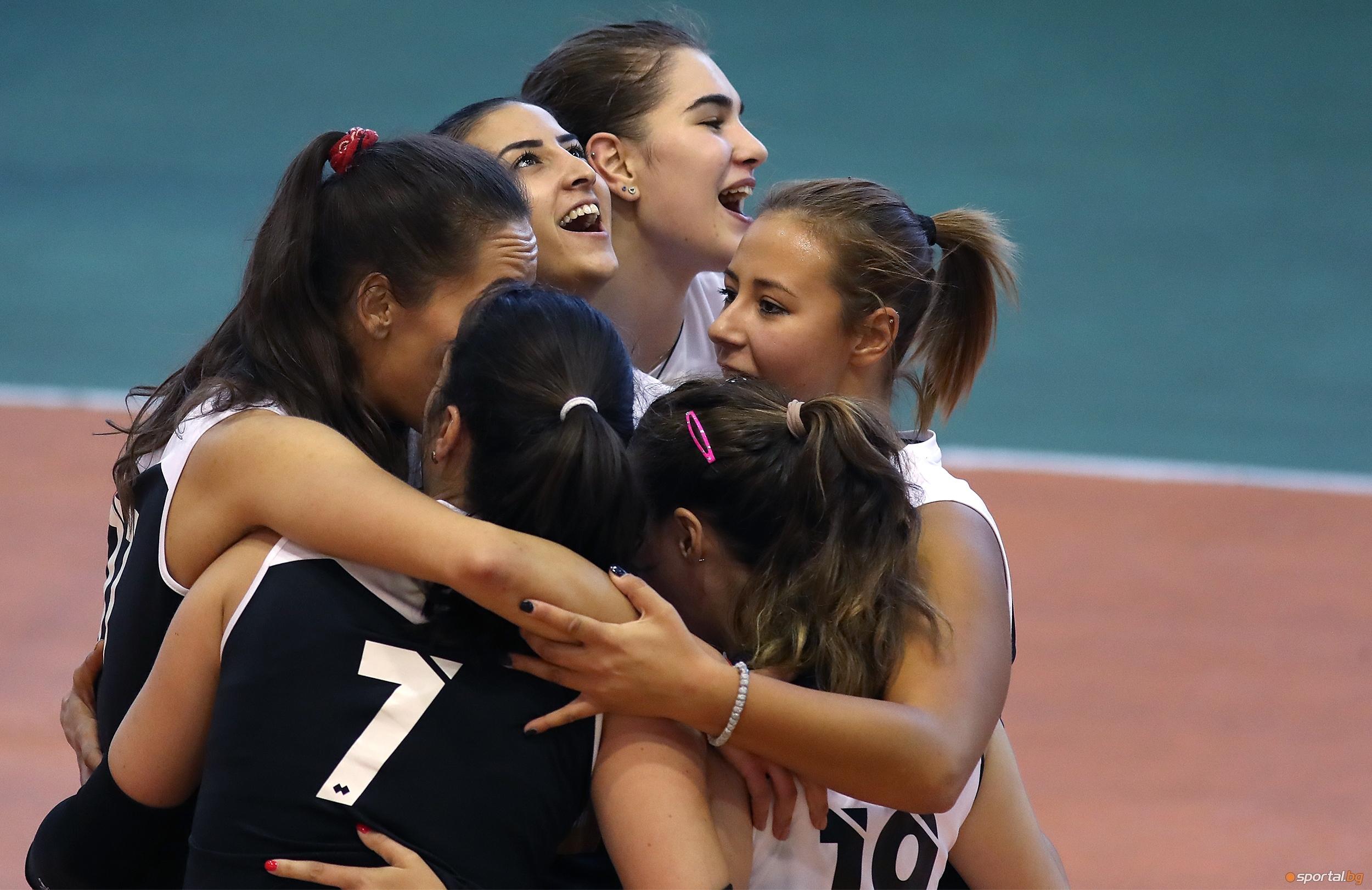 Волейболистките на Славия (София) записаха първа победа в НВЛ-жени, след