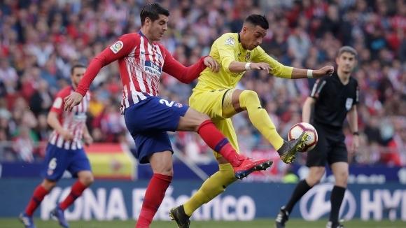Мачът между Виляреал и Атлетико Мадрид от 16-ия кръг на