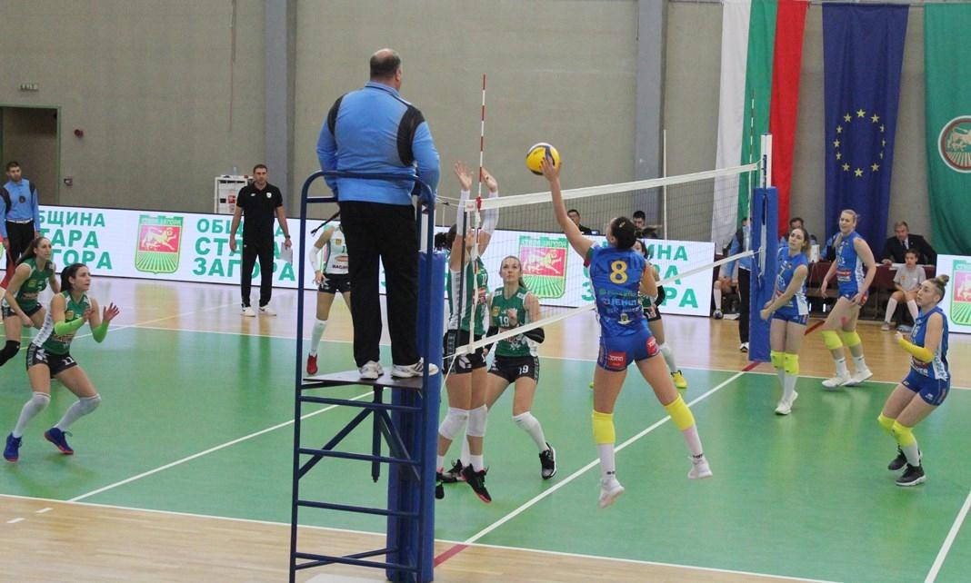 Шампионките от Марица (Пловдив) записаха 5-а поредна победа от началото