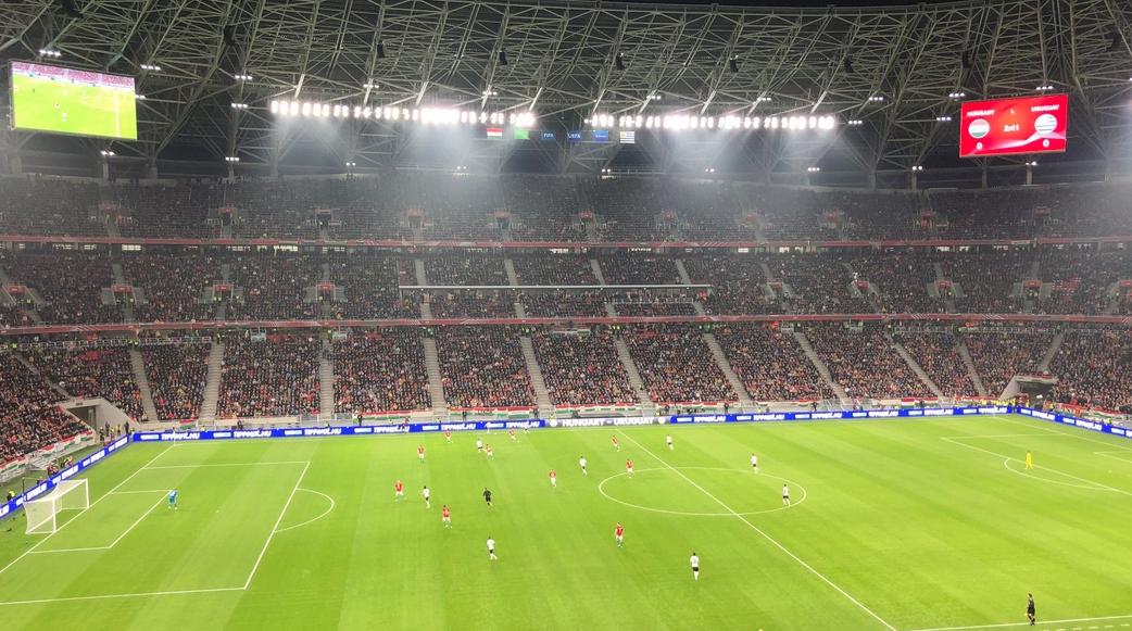Уругвай победи с 2:1 като гост Унгария в приятелски мач,