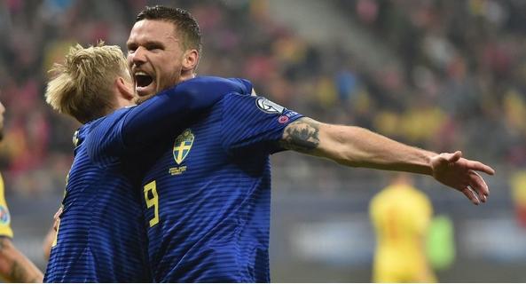Швеция стана поредният отбор, който се класира за Евро 2020.